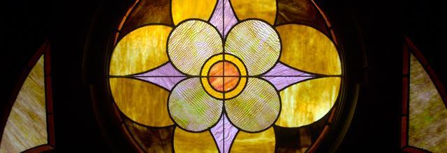 Dahlgren Chapel stained glass window